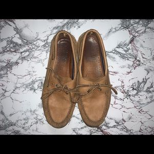 Men Sperry Leather Boat Shoes
